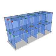 Glass Cube Fixture