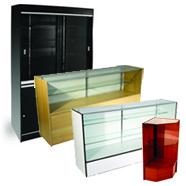 Wood Display Cases
