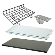 Shelves and Shelving Accessories