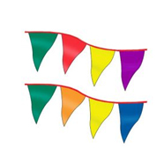 Display Curtains and Pennant Strands