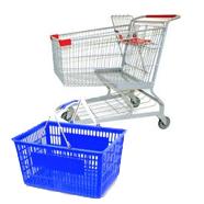 Shopping Baskets & Carts