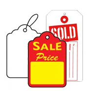 Price Tags and Merchandise Tags