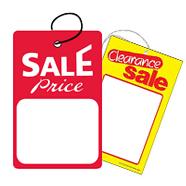 Unstrung Merchandise Tags