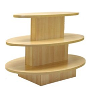 Wood Floor Displays