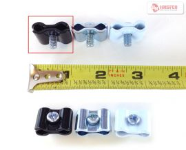 Black/Universal Joiner Clip For Gridwall