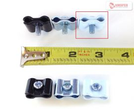 White/Universal Joiner Clip For Gridwall