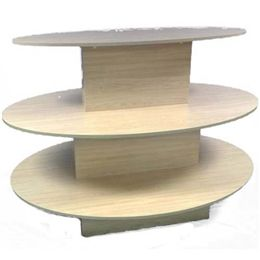 """3 TIER OVAL TABLE 60"""" L X 42"""" W X 42"""" H"""