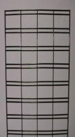 Chrome/2' X 7' Slatgrid Panel