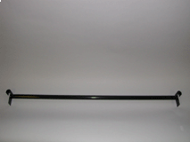"""Straight Hangrail 48""""L Round Tubing For Gridwall"""