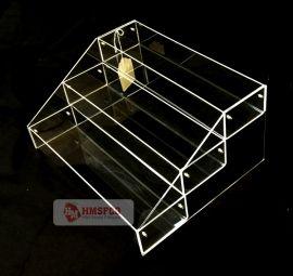 """Acrylic Bin System 3-Tier 13"""" Wide Clear"""