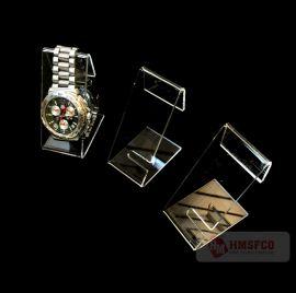 "Acrylic Watch Display Stand 1-1/2""X2""X3"" Clear"