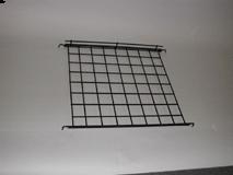 "Chrome/24"" X 24"" Straight Shelf With Lip For Grid"
