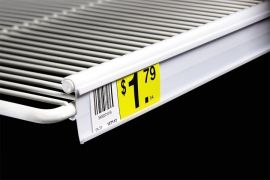 C-Channel for Double Wire Shelf