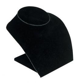 "Low Profile Neck Form Necklace Display 5""(H) / Black"