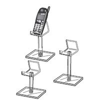 Pedastel Easels, Phone Pedastel, Set Of 3