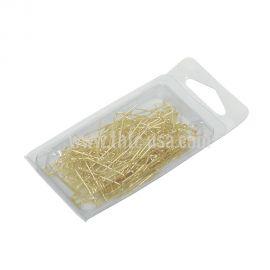Jewelry Display Pin, Gold U Pin