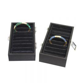 Bangle Display Tray Small Velvet / Black