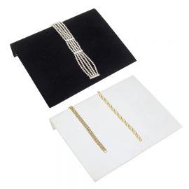 Bracelet Display Ramp - Black, White