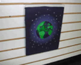 """11-1/2""""(H) X 14-1/2""""(W) Acrylic T-Shirt Display With White Insert For Slatwall"""