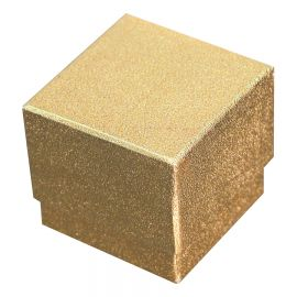Starlight Earring Box Gold W/Blk / 100Pcs
