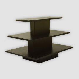 3 Tier Display Table, Rectangular  Shape
