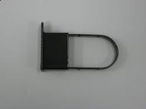 Chrome/Extended End Cap For Rectangular Tubing Flush Bottom
