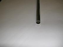 "Chrome/5' Round Tubing 1-1/4"" Diameter 14 Gauge"