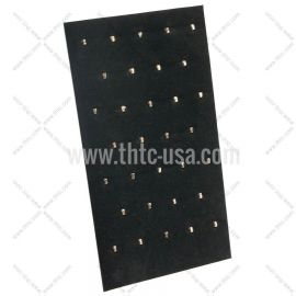 """Pendant Pad with Easel-32 Hooks, 7 5/8"""" x 14 1/8"""" (H), Black"""