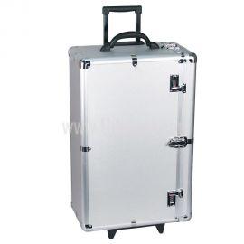"Heavy Duty Aluminum Carrying Case, 16 3/8"" x 10 3/8"" x 26 1/4"" (H)"