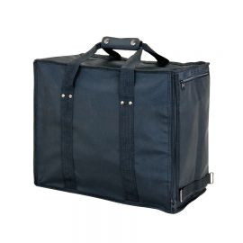 Premium Fabric Soft Carrying Case Holds 12 Trays / Black