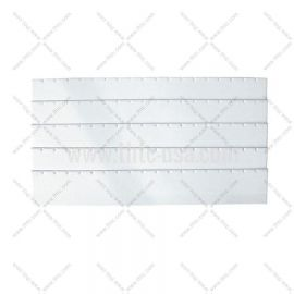 "Tray Insert Earring Pad - 45 Pair, 14 1/8"" x 7 5/8"", White"