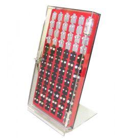 """1 Sided Body Jewelry Display 8""""(W)X7""""(D)X15""""(H)"""