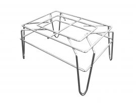 """Beverage Stand, Chrome, 14""""(W) X 10""""(D) X 7-3/4""""(H), Pack of 10"""