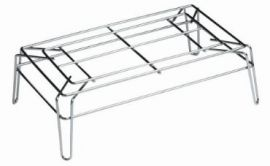 """Beverage Stand, Chrome, 28""""(W) X 14""""(D) X 8""""(H), Pack of 10"""