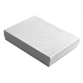 """Cotton Filled Box 5-3/8"""" x 3-7/8"""" x 1"""" White / 100Pcs"""