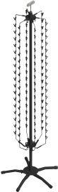 "Rotating Floor Strip Spinner Rack, 18""(W) X 61""(H)"