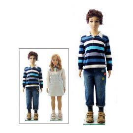 Kids Boy or Girl Mannequin, Plastic Skintone