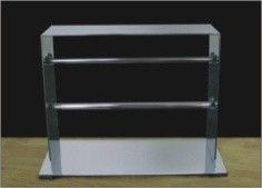 """Double Bracelet Stand, 13 1/4""""(L) X 4""""(W) X 18 1/4""""(H), 13 1/2"""" X 4"""" Base"""