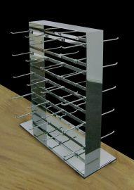 "2-Way Jewelry Tower, 15""(L) X 5 1/2""(W) X 18 1/4""(H), Includes 40Pcs Of 3"" Hooks"