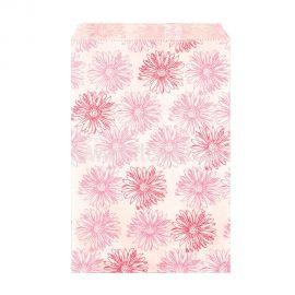 Paper Gift Bag Pink Flowers, 1000 Pcs