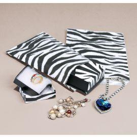 "Paper Gift Bag 81/2""X11"" Zebra Printed / 1000Pcs"