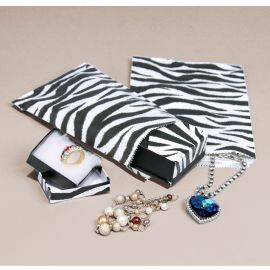 "Paper Gift Bag 4""X6"" 100 Pcs Zebra Printrd / 1000Pcs"
