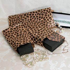 """Paper Gift Bag 5""""X7"""" Leopads Printed / 1000Pcs"""
