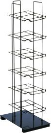 """6 Tier Cap Tower, 10""""(L) X 15 1/2""""(W) X 38""""(H), Holds Up To 36 Caps"""