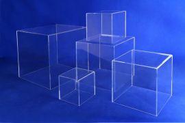 """5 Sided Cube, 8"""" X 8"""" X 8""""X 5/32 (T)"""