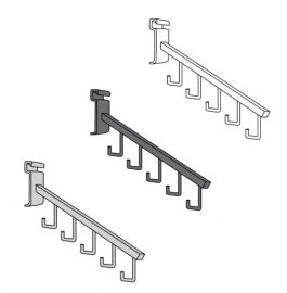 5 Hook Waterfall Square Tube For Gridwall