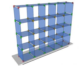 Custom Glass Cube Display Fixtures 15