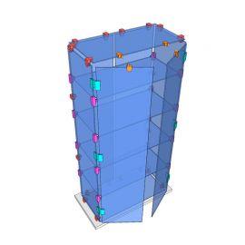 Custom Glass Cube Display Fixtures 18