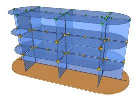 Custom Glass Cube Display Fixtures 19