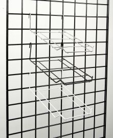 """1/8"""" Wire Cap Displayer For Gridwall, Holds Up To 12 Caps,Pack Of 20"""